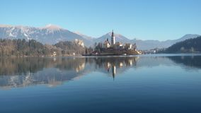 Bled. Lake slovenia Royalty Free Stock Photography
