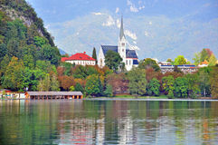 Bled lake, Slovenia Stock Images