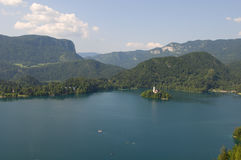 Bled lake. Slovenia Stock Photos