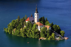 Bled Lake, Slovenia, Europe Stock Images