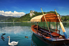 Bled lake,Slovenia,Europe Stock Image