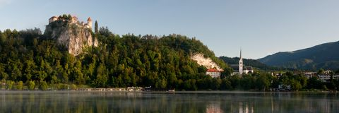 Bled Lakeshore Stock Images