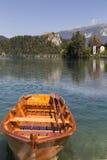 Bled's湖 免版税库存照片