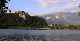 Bled, Slovenia. A view of Bled lake in Slovenia Stock Photo