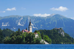 Bled, Slovenia, Europe Stock Image