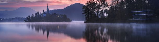 Bled in Slovenia, Europe Stock Images