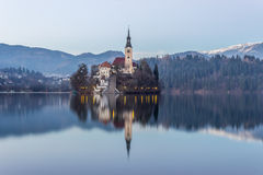 Bled, Slovenia, Europe. Bled lake of Slovenia, Europe royalty free stock images