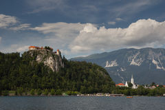 Bled, Slovenia. Bled and lake Bled, Slovenia Royalty Free Stock Images