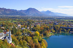 Bled View  Stock Images