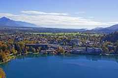 Bled View  Royalty Free Stock Images