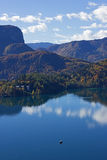 Bled View  Stock Photography