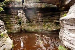 Bledne skaly Fotografia de Stock