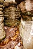 Bledne skaly Stock Photo