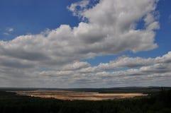 Bledow desert seen from Czubatka Stock Photo
