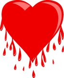 Bleeding heart Stock Photo