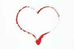 Bleeding Heart Valentine Card Royalty Free Stock Photo