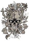 Bleeding skull Royalty Free Stock Photo