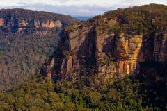 Blefe da montanha de Katoomba fotos de stock