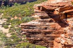 Blefe da pedra calcária natural em Austrália ocidental Foto de Stock