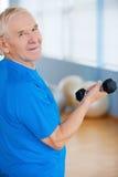 Bleiben aktiv und gesund Stockbild