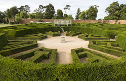 Bleinheim-Palastlabyrinth, Oxfordshire, Vereinigtes Königreich Stockfotografie