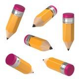 Bleistift. lizenzfreie abbildung