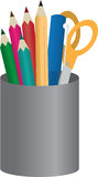 Bleistift-Behälter Lizenzfreie Stockbilder