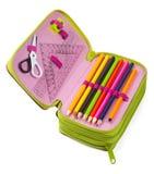 Bleistift-Fall Lizenzfreies Stockfoto