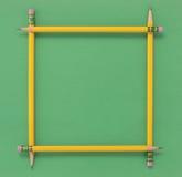 Bleistift-Feld Stockfoto