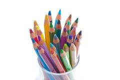 Bleistift im Glas Lizenzfreie Stockfotos