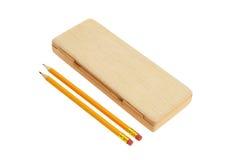 Bleistift-Kasten Stockbild