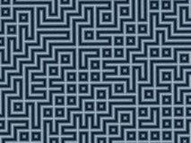 Bleistift-Labyrinth stock abbildung