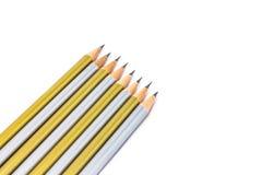 Bleistift lokalisiert auf Reinweißhintergrund Lizenzfreie Stockbilder