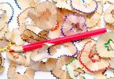 Bleistift mit Holz Stockfotos