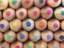 Bleistift-Muster Stockfoto