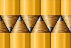 Bleistift-Muster Lizenzfreies Stockbild