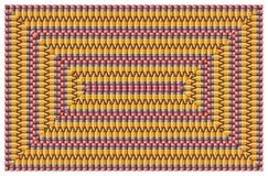 Bleistift-Muster Lizenzfreies Stockfoto