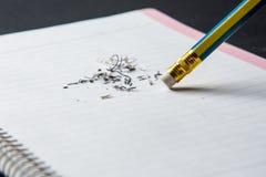 Bleistift-Radiergummi Stockbilder
