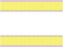 Bleistift-Rand Stockfotos