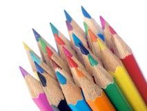 Bleistift-Set Lizenzfreies Stockfoto