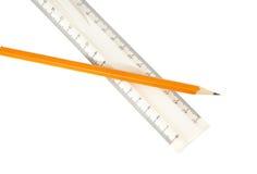 Bleistift und Machthaber Lizenzfreie Stockfotos