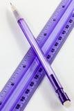 Bleistift und Machthaber Lizenzfreies Stockfoto