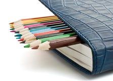 Bleistift und Organisator Stockbild