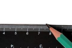 Bleistift und Tabellierprogramm Stockfoto