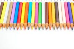 Bleistift-Zeichenstifte Lizenzfreie Stockbilder