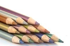Bleistift-Zeichenstifte Stockfotografie