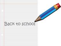 Bleistift zurück zu Schule Stockfotos