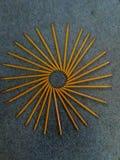 Bleistift-Zusammenfassung Stockbild