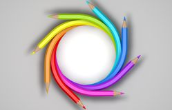 Bleistifte Lizenzfreie Abbildung