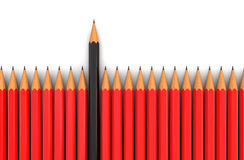 Bleistifte (Beschneidungspfad eingeschlossen) Stockfoto